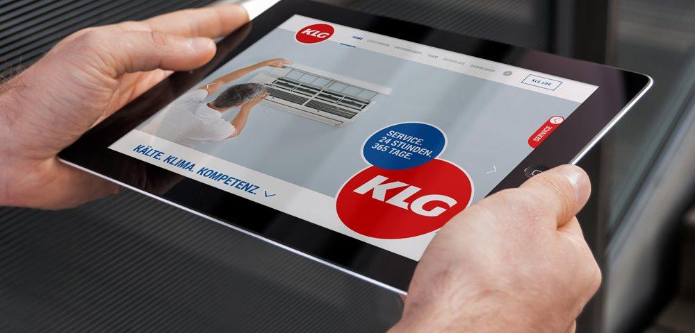 Bild neue Website KLG